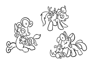 CMC Veterinarians by PonyGoggles