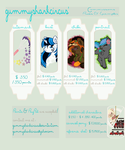 COMMISSION PRICE GUIDE : PONY - CLOSED by gummysharkcircus