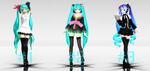 [MMD] Diva poses [Download] by Carl-Olof