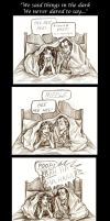 We Said Things In The Dark by Muirin007