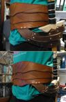 Worn Altair Belt + Sheath by IdiotEngine
