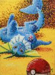 Vaporeon Painting by Distraction-Number-4