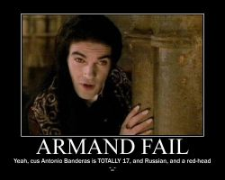 Armand fail by Trekkie-By-Birth