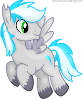 Silverbolt [[COMMISSION]] by FonyPony