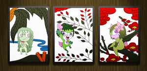 Hanafuda - Set 2 by RyoNeko48