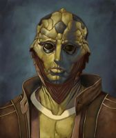 Thane Krios by adrian4rt