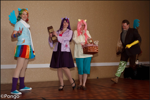My Little Pony-Friendship is Magic Walk-On by Yukizeal