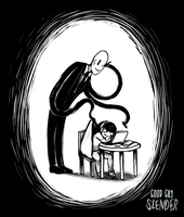 Sleep - Good guy Slenderman by lIfExPeRiMeNTs