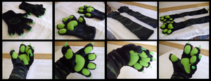 Swirly Handpaws by CuriousCreatures