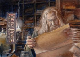 Library of Gondor AP by kohse