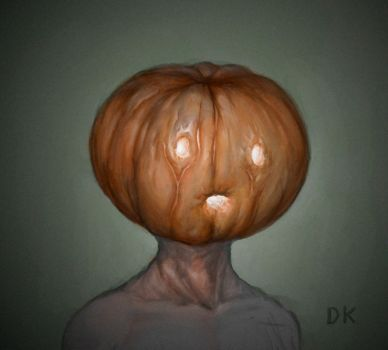 Pumpkinhead by VoidJaeger