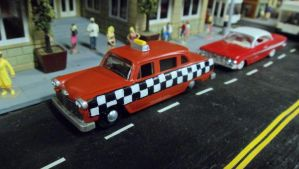 GTA Borgnine Taxi by hankypanky68