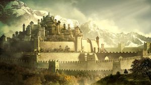 Ancient Walled Kingdom by Androgs