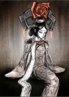 Chinese maiden by Pigeon-Capsule