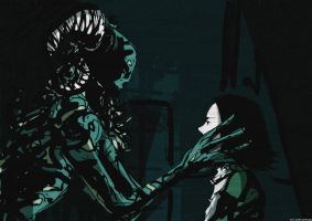Pan's Labyrinth fanart by Nicohitoride