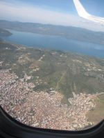 Lesvos from the sky by BlackLeatheredOokami