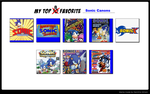 Favorite Sonic continuities by Hero-T