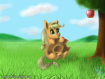 Oh apple, sweet apple by AngelStudio-Alicorns