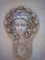 Goddess in Stone by sd-stock