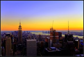 Manhattan in HDR by ciaraan