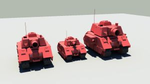 Red Tank Line Up by Syros