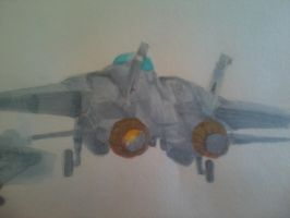 F-14 going on a patrol by ArtistNumber3