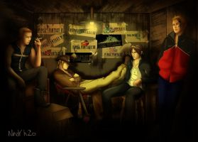 ff8 men by NinayH2o