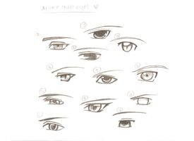 Anime guys eyes-pic ur fav by nakila3