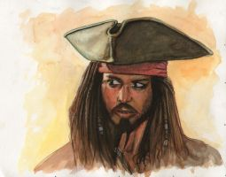 Jack Sparrow by ssava