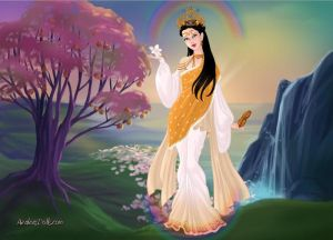 Lady of Creation : Goddess Saraswati
