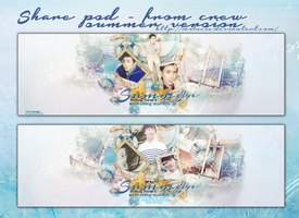 [Share PSD ] Hello Summer by Molncie