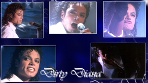 Dirty Diana Wallpaper by NatouMJSonic