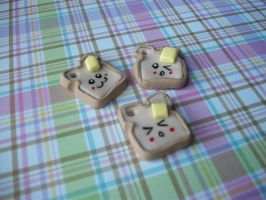 Toast Charms by KatGore