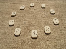 Circle of Runes by t-stock