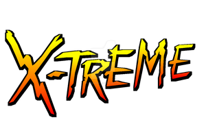 REMADE SONIC XTREME LOGO by darkspire17