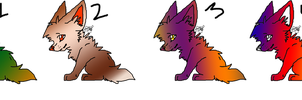 Fennec Fox Adopts :OPEN: by wightravenadoptables