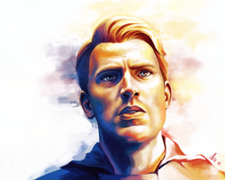 Steve Rogers - Captain America - Chris Evans by KaraNan