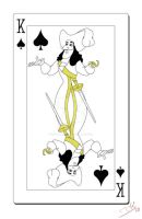 King of Spades Card by smallvillereject
