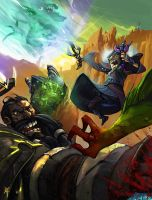 World of Warcraft commission by TheRagingSpaniard