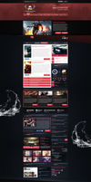GAU Multigaming Site by trkwebdesign