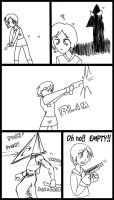 SILENT HILL COMIC 4 by macawnivore
