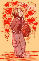 Leon S. Kennedy - Be Mine, Valentine? by MasterOfUnlocking