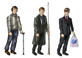 Dress up: Sherlock Combinations by alicelights