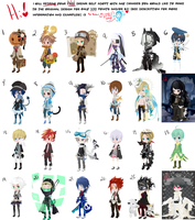 Major Adopts (All Males - CLOSED) by vwv-vwv