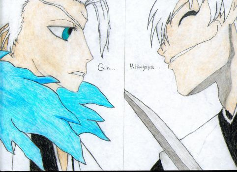 Toshiro-vs-Gin by Gillmusashi