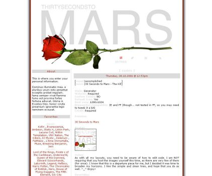 30 Seconds to Mars by Ravenfire