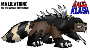 Maulverine: The Predatory Powerhouse by FiftyFootWhatever