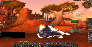 Me on my new mount 2 by Foxstar92
