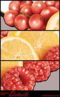 Fruit Retouching Details by yumkeks