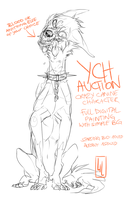 Crazy Canine YCH auction by LiLaiRa
